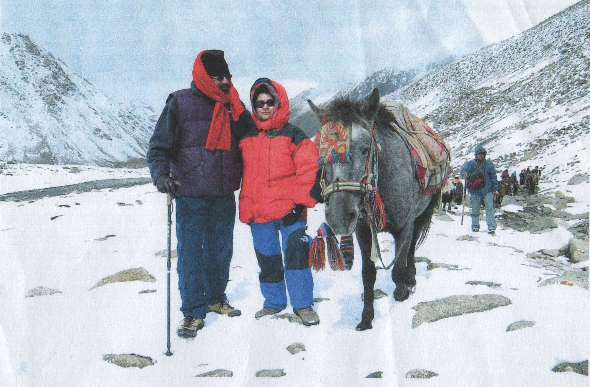 Anu and Iqbal Malhotra, Kailash Parikarma, Tibet, 2002