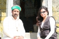 Anu Malhotra, Filmmaker on location, with Himachali Shaman, Gur Hardayal 32