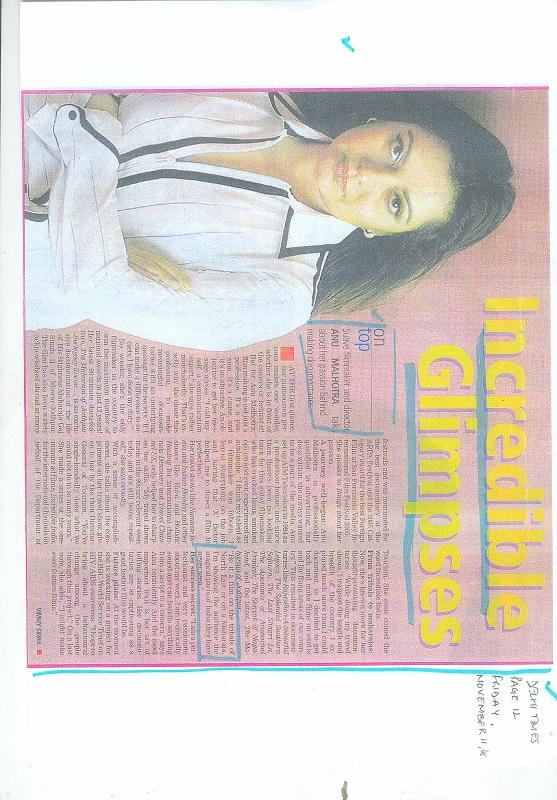 Delhi Times Friday November 11 2005