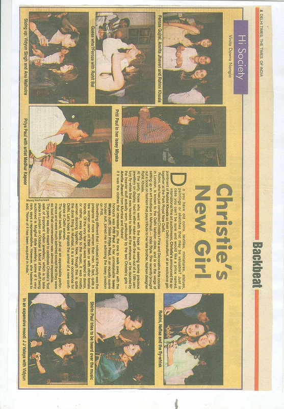 Delhi Times, The Times of India