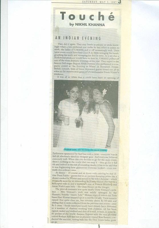Saturday May 3 1997
