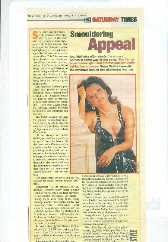 Saturday Times 2 January 1999