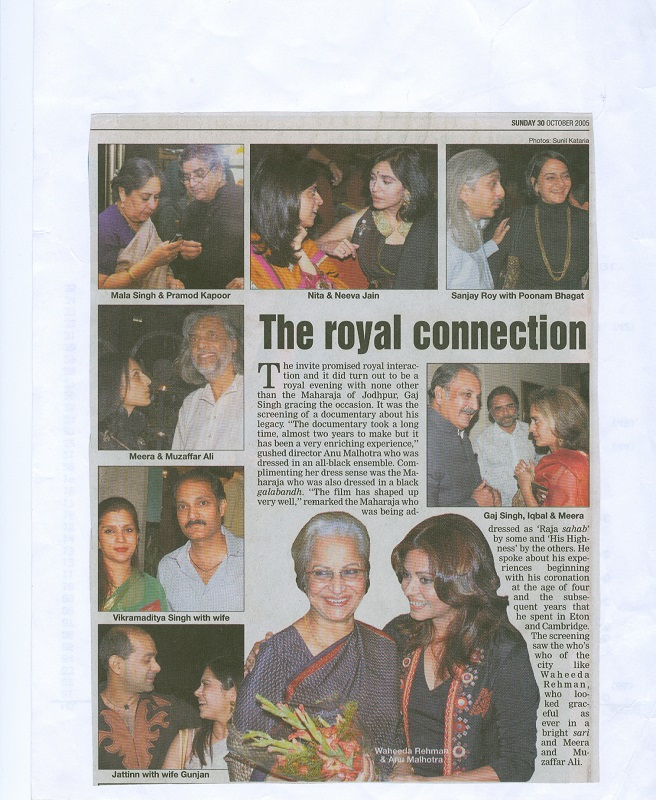 THE ROYAL CONNECTION