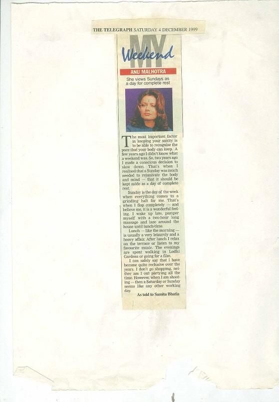 The Telegraph Saturday 4 ...December 1999
